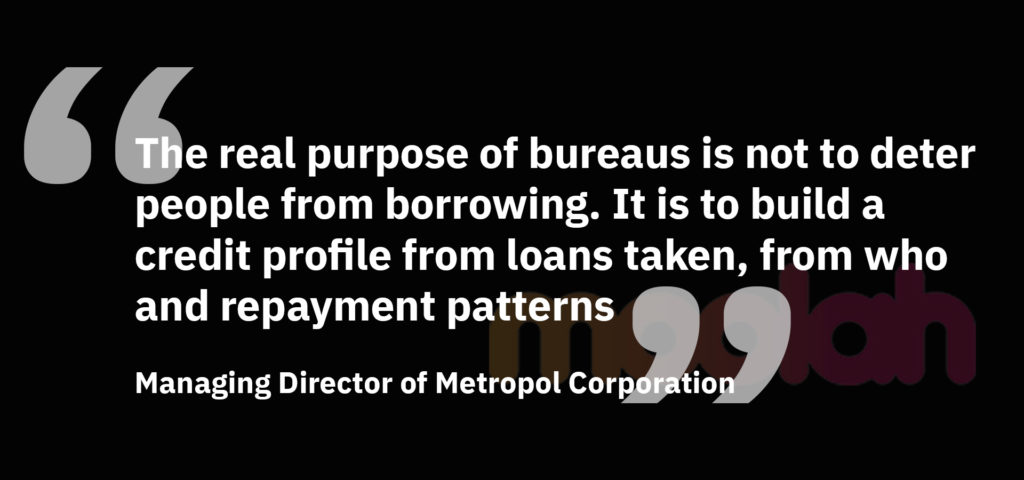 Quote from the Managing Director of Metropol Corporation