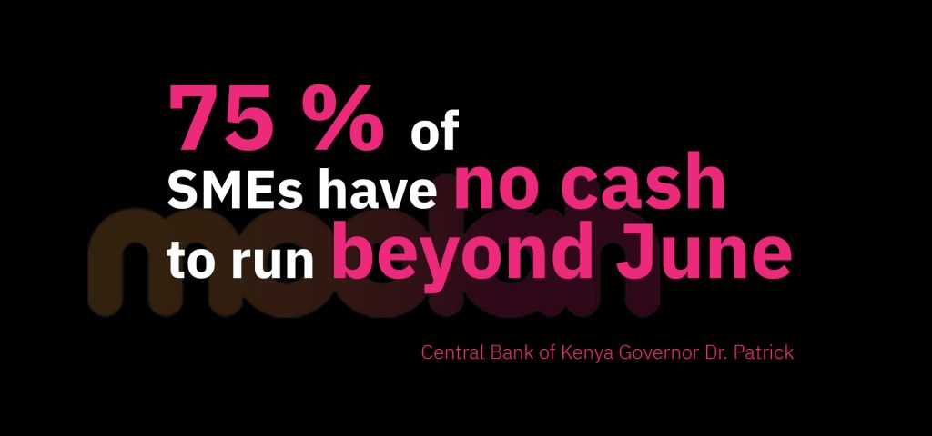 75 per cent of SMEs have no cash to run beyond June