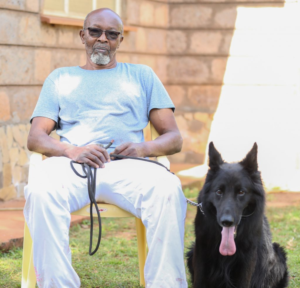 Founder of Kiuna Dogs, Chege Kiuna, started his dog breeding venture in 1984