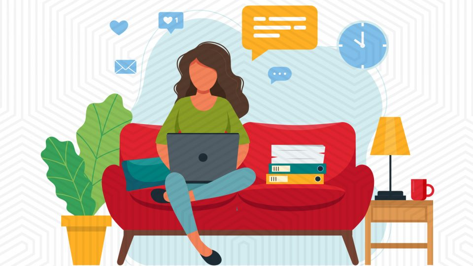 How much do companies save when employees work from home?