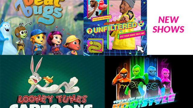 What's on the new shows for kids on DStv and GOtv